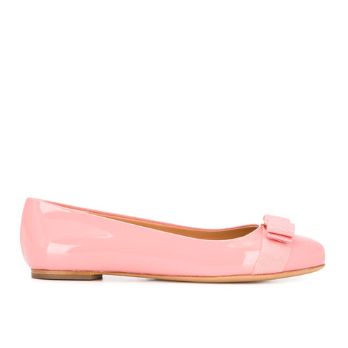 Salvatore Ferragamo Vara Bow Ballerina Shoes