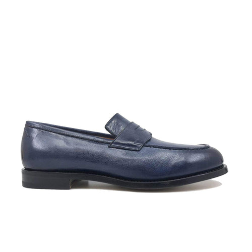 Santoni Leather Loafers
