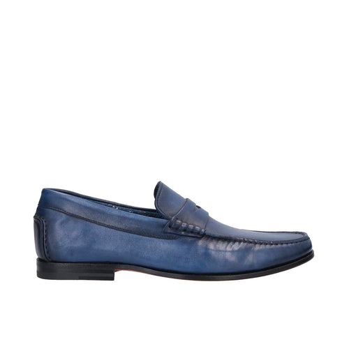 Santoni Moccasins Leather Loafers