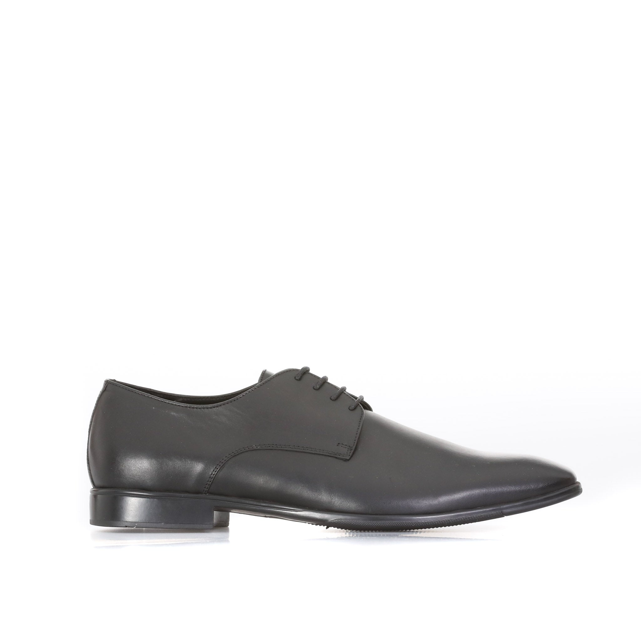 A. Testoni Leather Derby Shoes