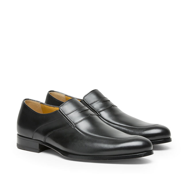 A. Testoni Leather Shoes