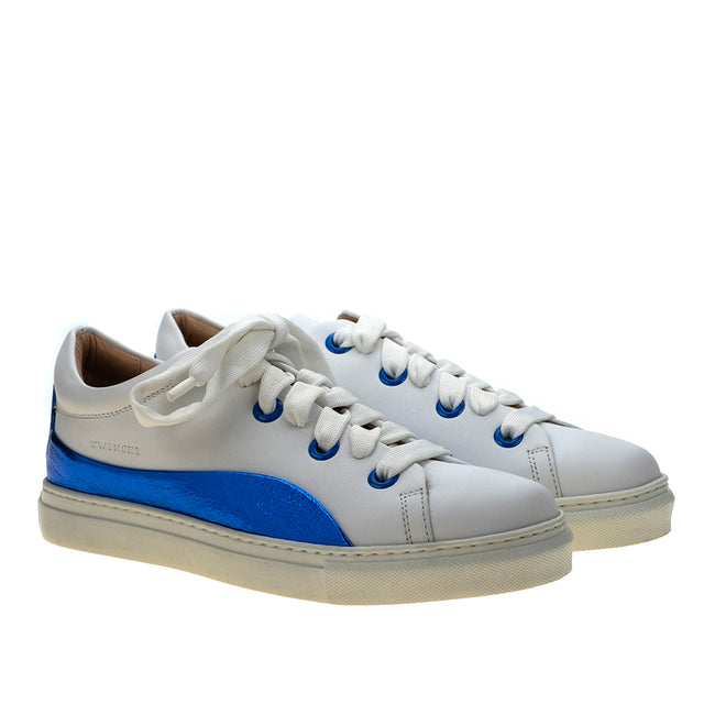 Twinset Glossy Leather Sneakers