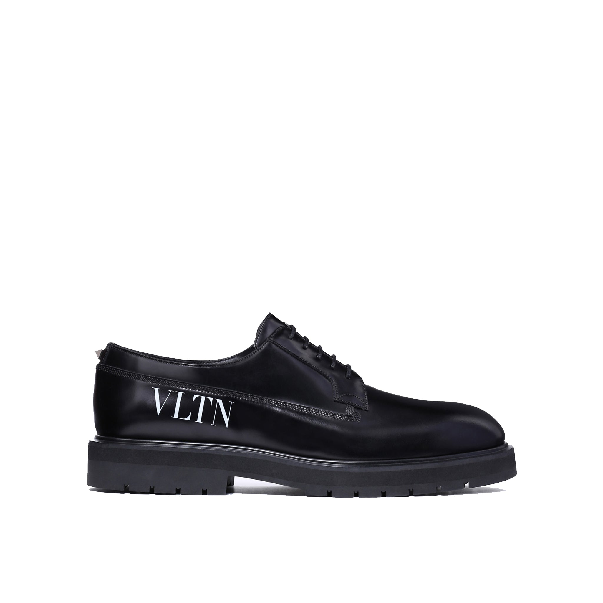 Valentino Leather Derby Shoes
