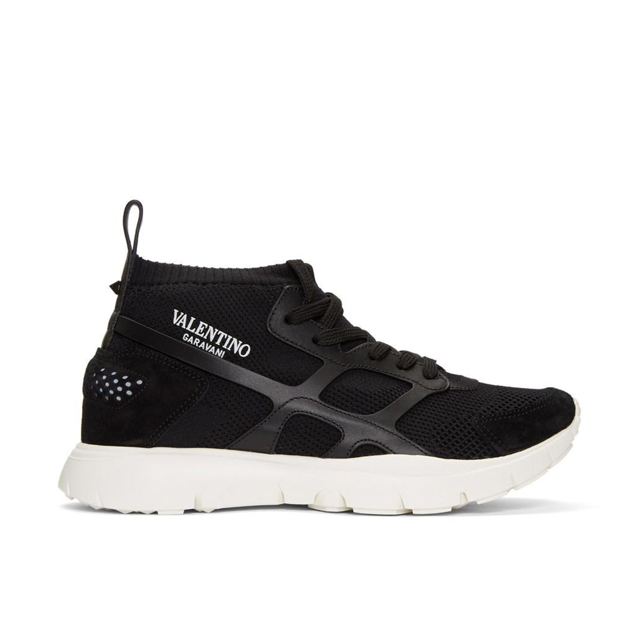Valentino Fabric Logo Sock Sneakers