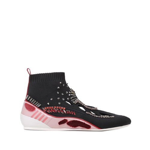 Valentino High Top Sock Sneakers