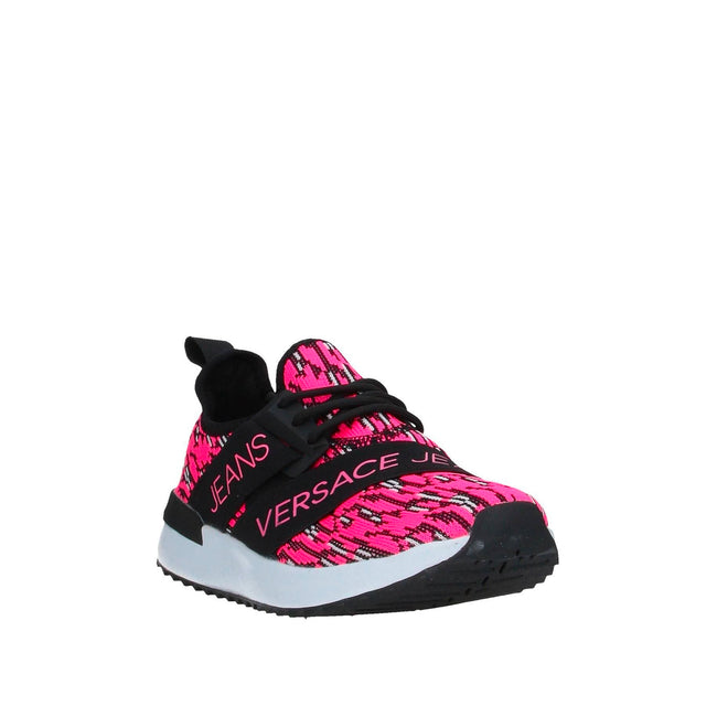 Versace Jeans Fabric Logo Sock Sneakers