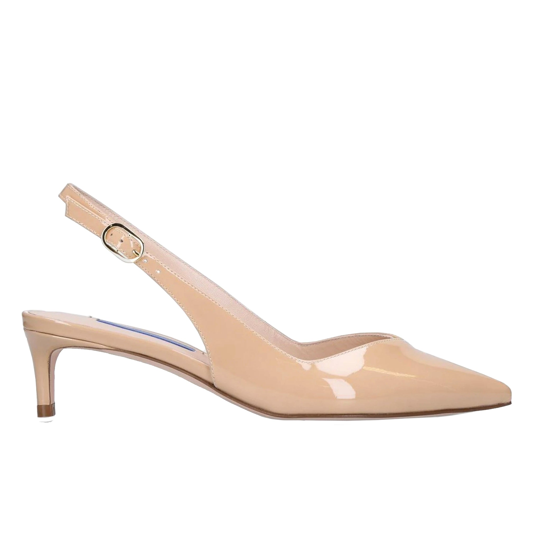 Stuart Weitzman Slingback Leather Pumps
