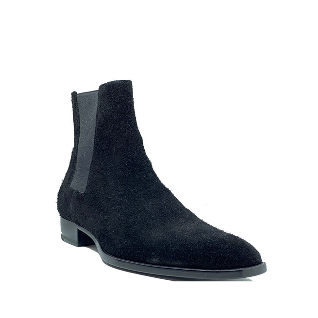 Saint Laurent Suede Shelsea Shoes