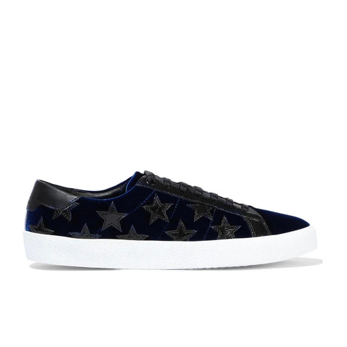 Yves Saint Laurent Court Classic Velvet Sneakers