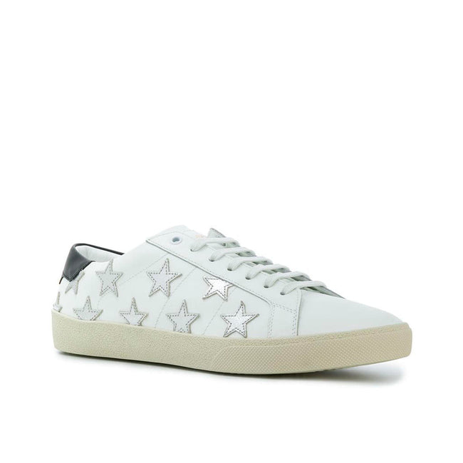 Yves Saint Laurent California Leather Sneakers