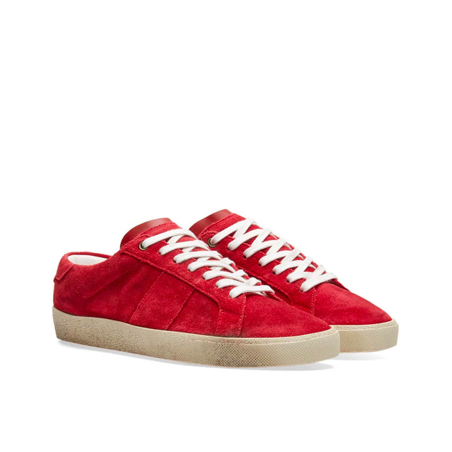 Yves Saint Laurent Court Classic Suede Sneakers