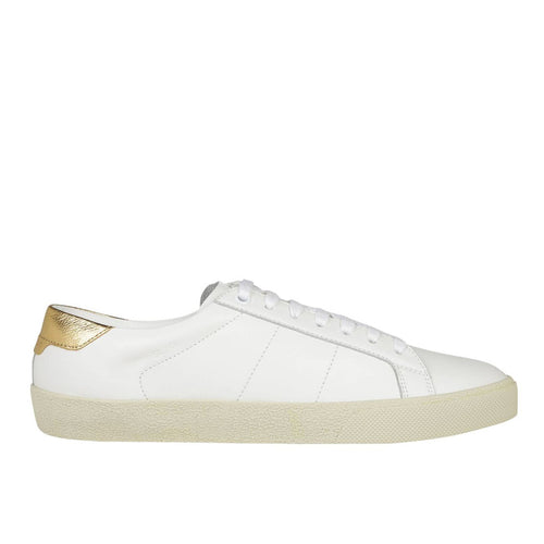 Saint Laurent Court Classic Leather Sneakers
