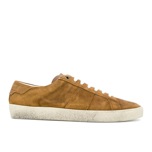 Saint Laurent Court Classic Suede Sneakers