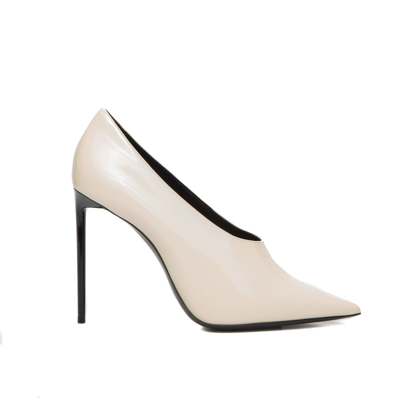 Patent Leather Teddy Pumps-YVES SAINT LAURENT-SHOPATVOI.COM - Luxury Fashion Designer