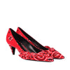 Yves Saint Laurent Bandana Print Pumps