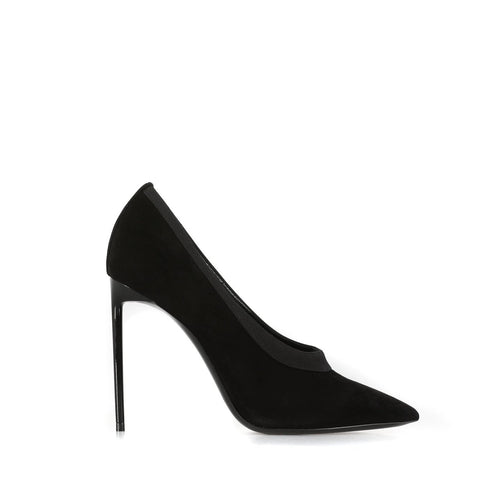 Yves Saint Laurent Teddy Suede Pumps-YVES SAINT LAURENT-SHOPATVOI.COM - Luxury Fashion Designer