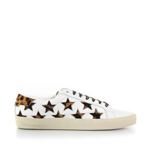 Yves Saint Laurent Court Classic Stars Sneakers-YVES SAINT LAURENT-SHOPATVOI.COM - Luxury Fashion Designer