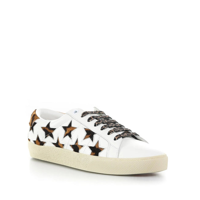 Yves Saint Laurent Court Classic Stars Sneakers