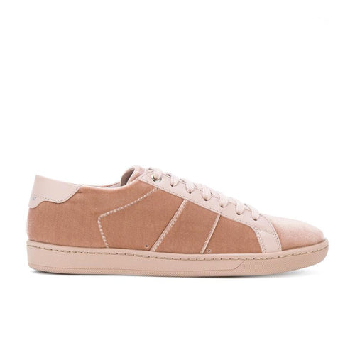 Saint Laurent Court Classic Velvet Sneakers