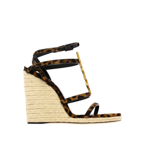 Yves Saint Laurent Cassandra Animalier Sandals