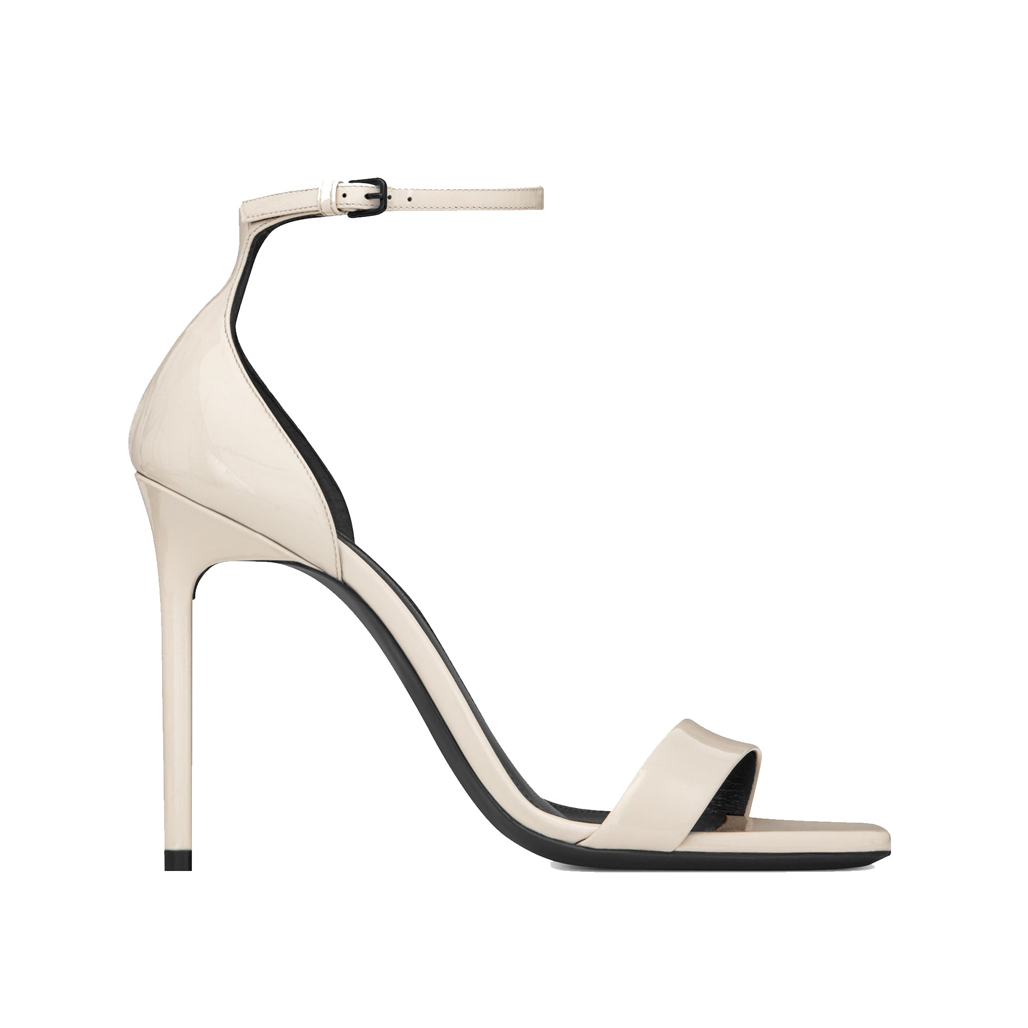 Saint Laurent Amber Patent Leather Sandals