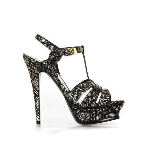 Yves Saint Laurent Tribute Heel Sandals-YVES SAINT LAURENT-SHOPATVOI.COM - Luxury Fashion Designer