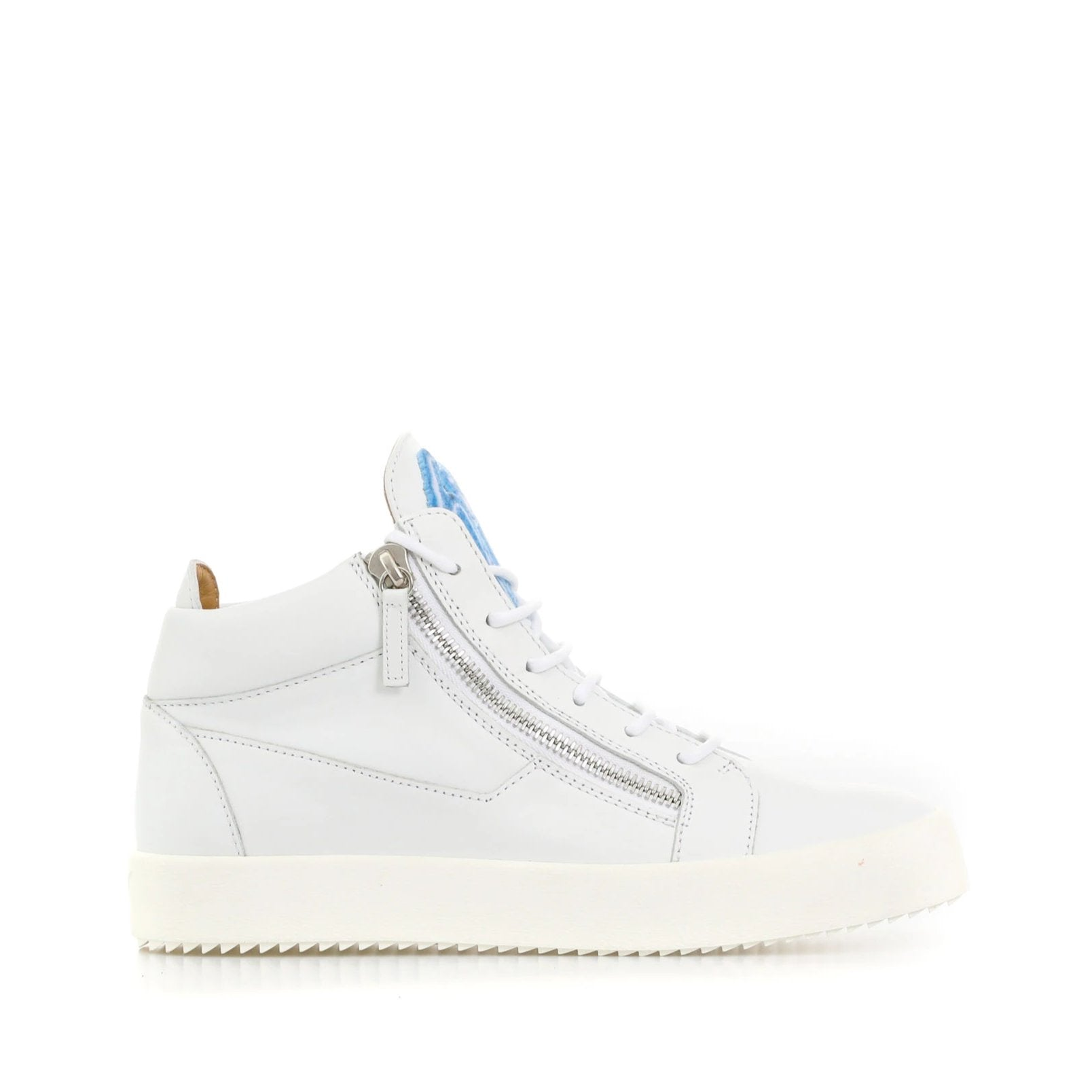 Giuseppe Zanotti Design Kriss Mid-Top Leather Sneaker