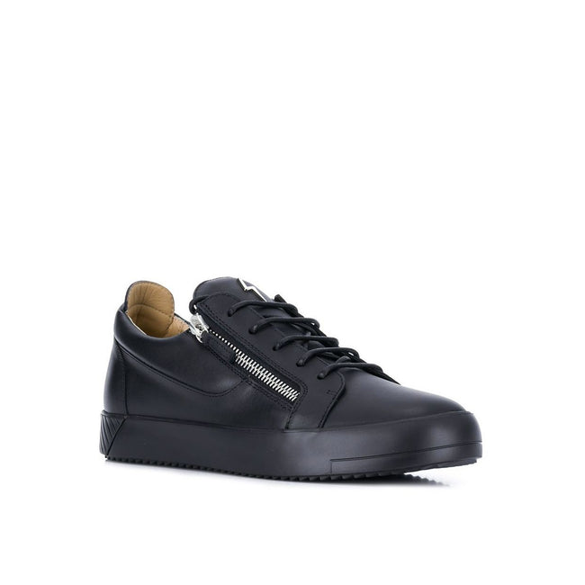 Giuseppe Zanotti Design Thunder Leather Sneakers