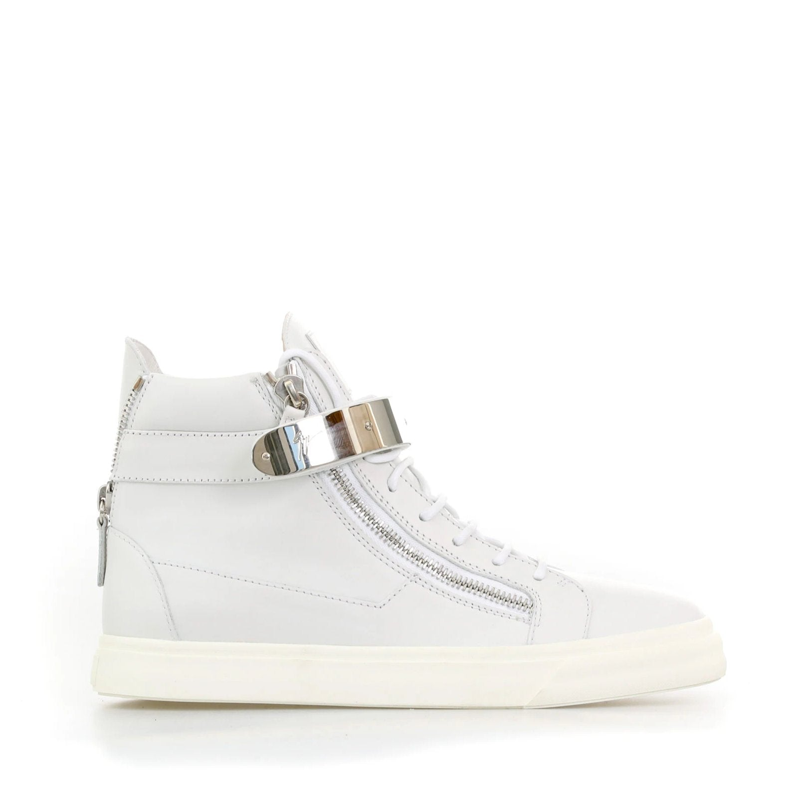 Giuseppe Zanotti Design Denny High-Top Leather Sneaker