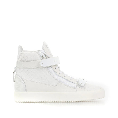 Giuseppe Zanotti Design Coby High-Top Leather Sneaker