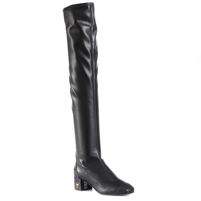 Giuseppe Zanotti Design Leather Knee Boots