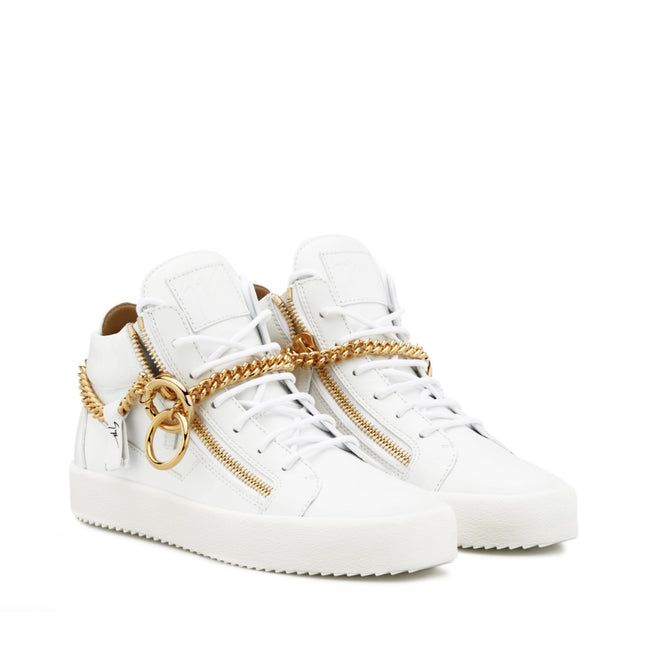 Giuseppe Zanotti Design High Top Leather Sneakers