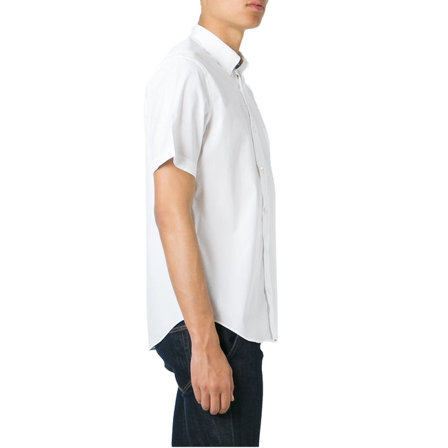 Burberry Short Sleeves Poplin Shirt