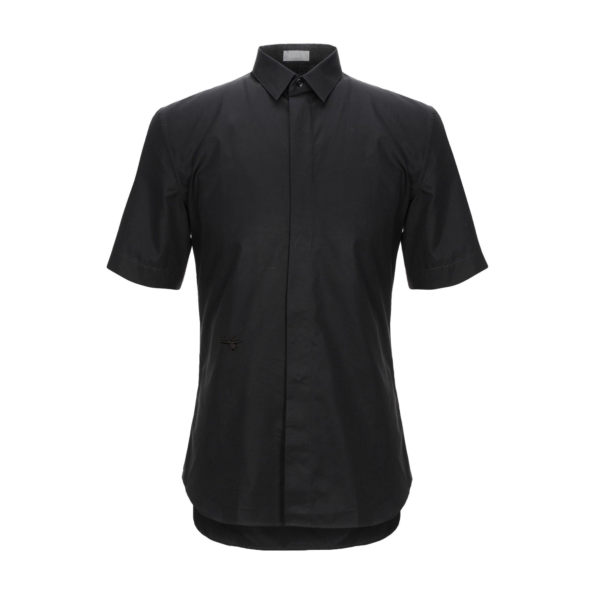 Dior Short Sleeves Poplin Shirt