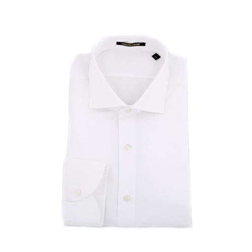 Roberto Cavalli End-On-End Cotton Shirt