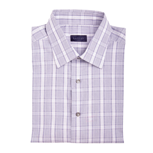 Lanvin Flannel Cotton Blend Shirt