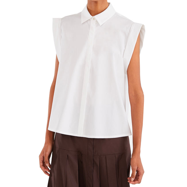 Max Mara Studio Cotton Poplin Shirt