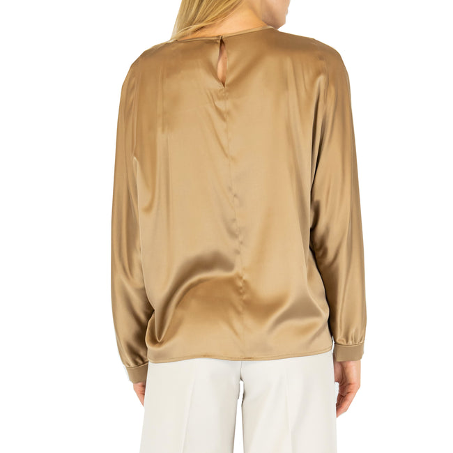 Max Mara Studio Big Silk Blouse