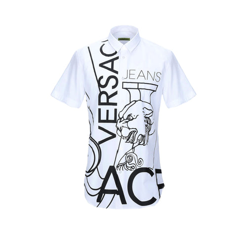 Versace Jeans Short Sleeves Logo Shirt