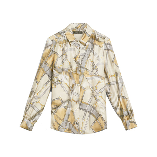 Max Mara Weekend Nido Silk Twill Shirt