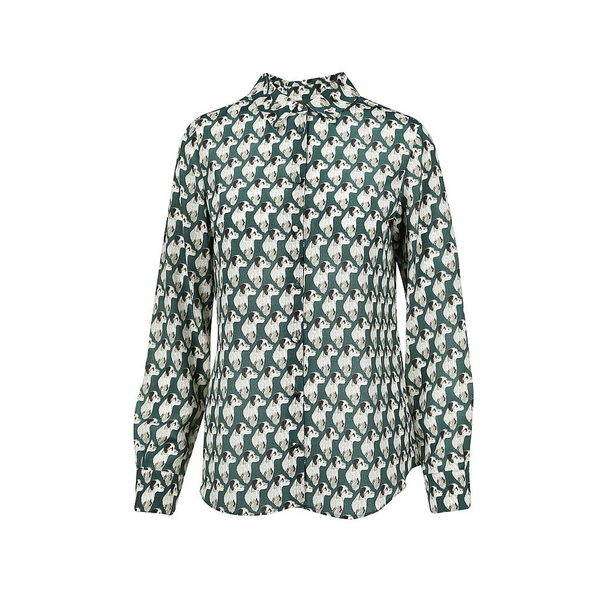 Max Mara Weekend Galazia Silk Printed Shirt