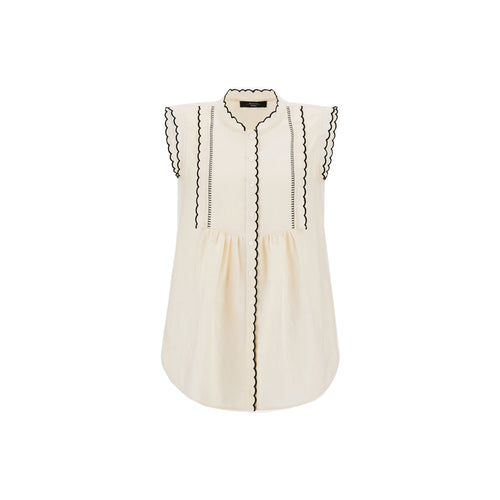 Max Mara Weekend Ferito Linen Top