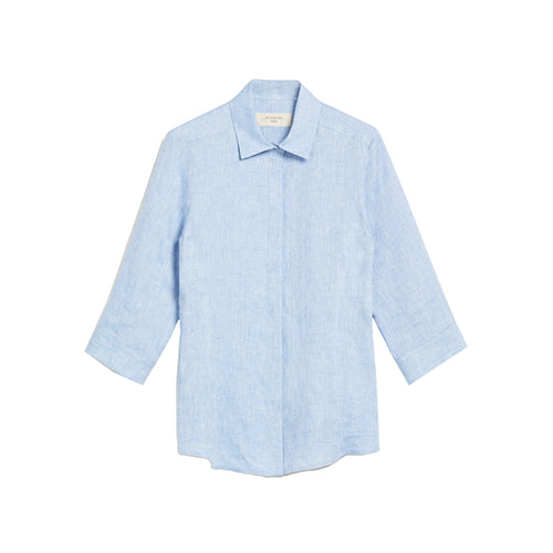 Max Mara Weekend Linen Canvas Shirt