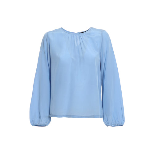 Max Mara Weekend Scalata Silk Blouse