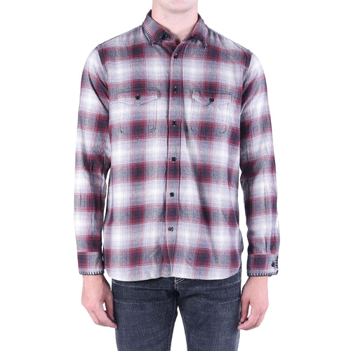 Yves Saint Laurent Checked Cotton Shirt