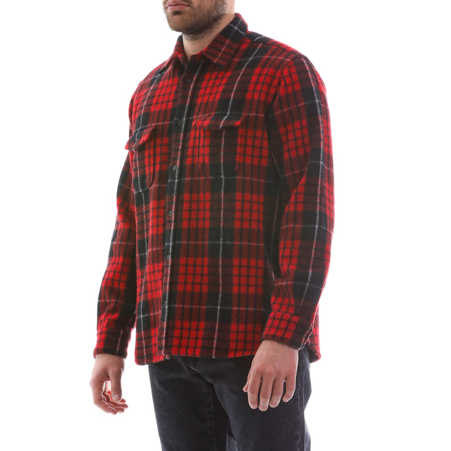 Yves Saint Laurent Checked Wool Shirt