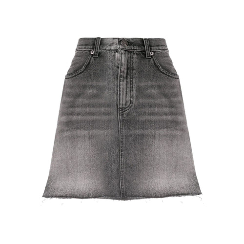 Yves Saint Laurent Denim Mini Skirt
