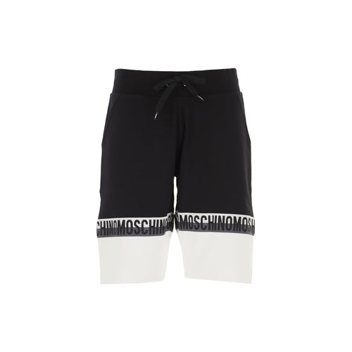 Moschino Underwear Logo-Tape Track Shorts