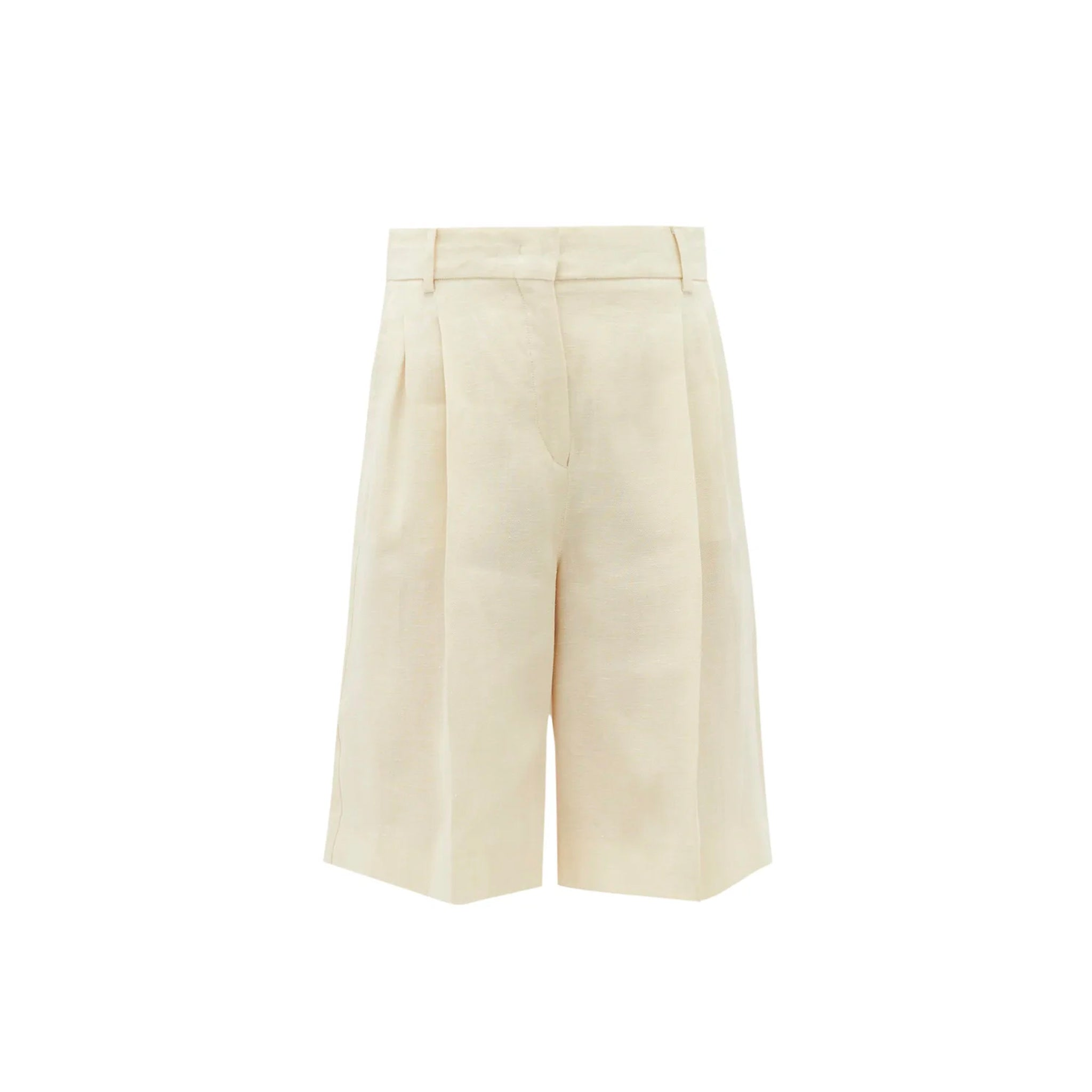 Max Mara Weekend Linen Hopsack Shorts