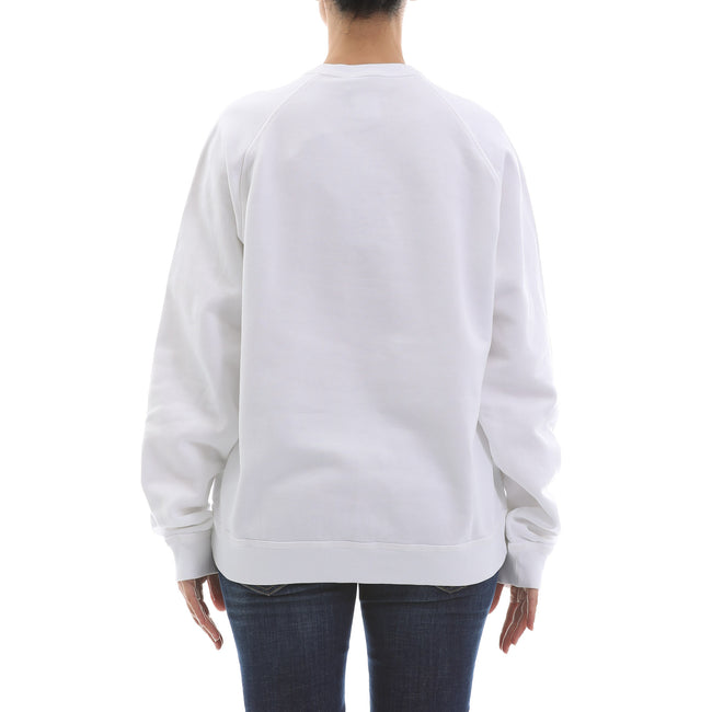 Dsquared2 Cotton Logo Sweatshirt-DSQUARED2-SHOPATVOI.COM - Luxury Fashion Designer